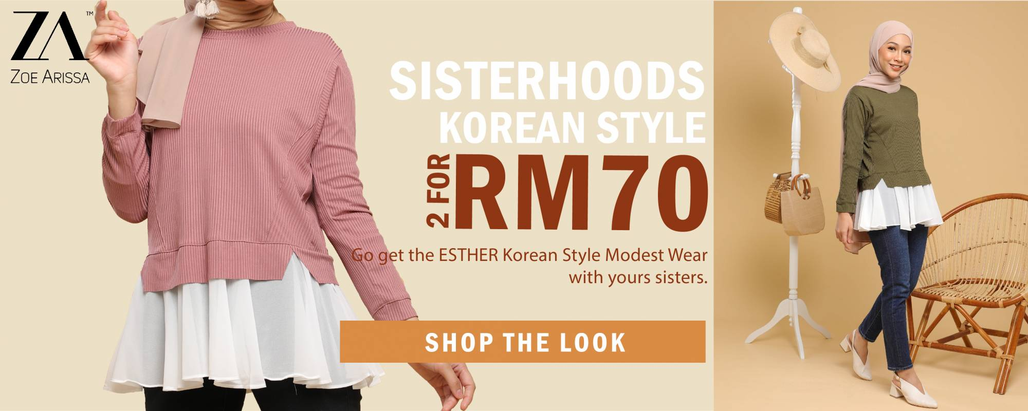 2 Top for RM70