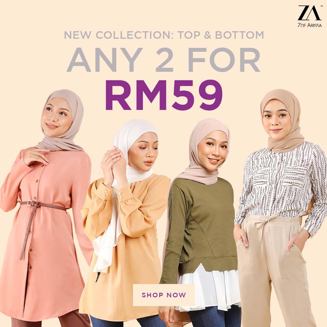 ANY 2 FOR RM59