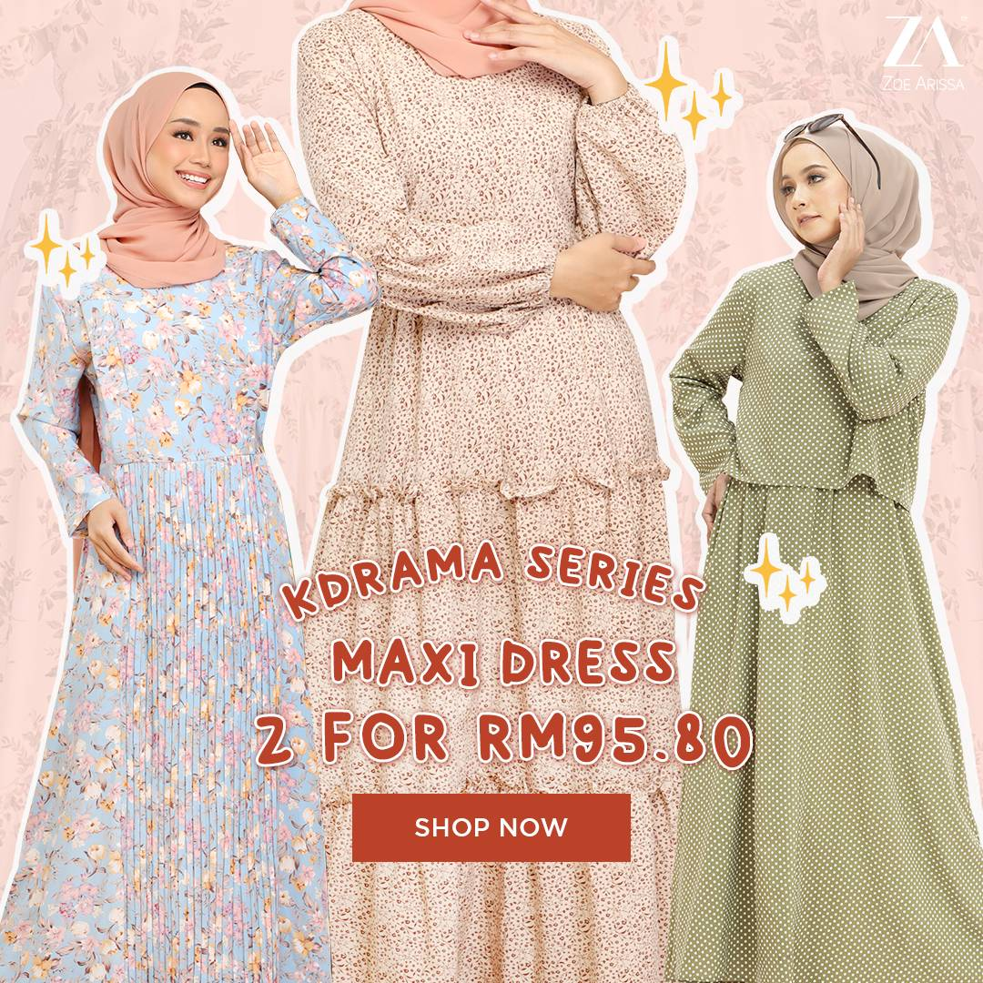 KDRAMA SERIES: DRESS 2 FOR RM95.80!
