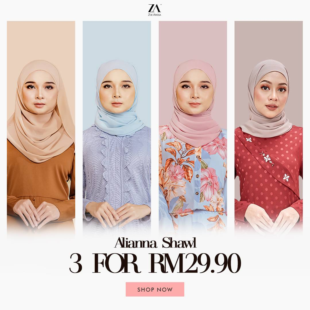 SHAWL 3 FOR RM29.90