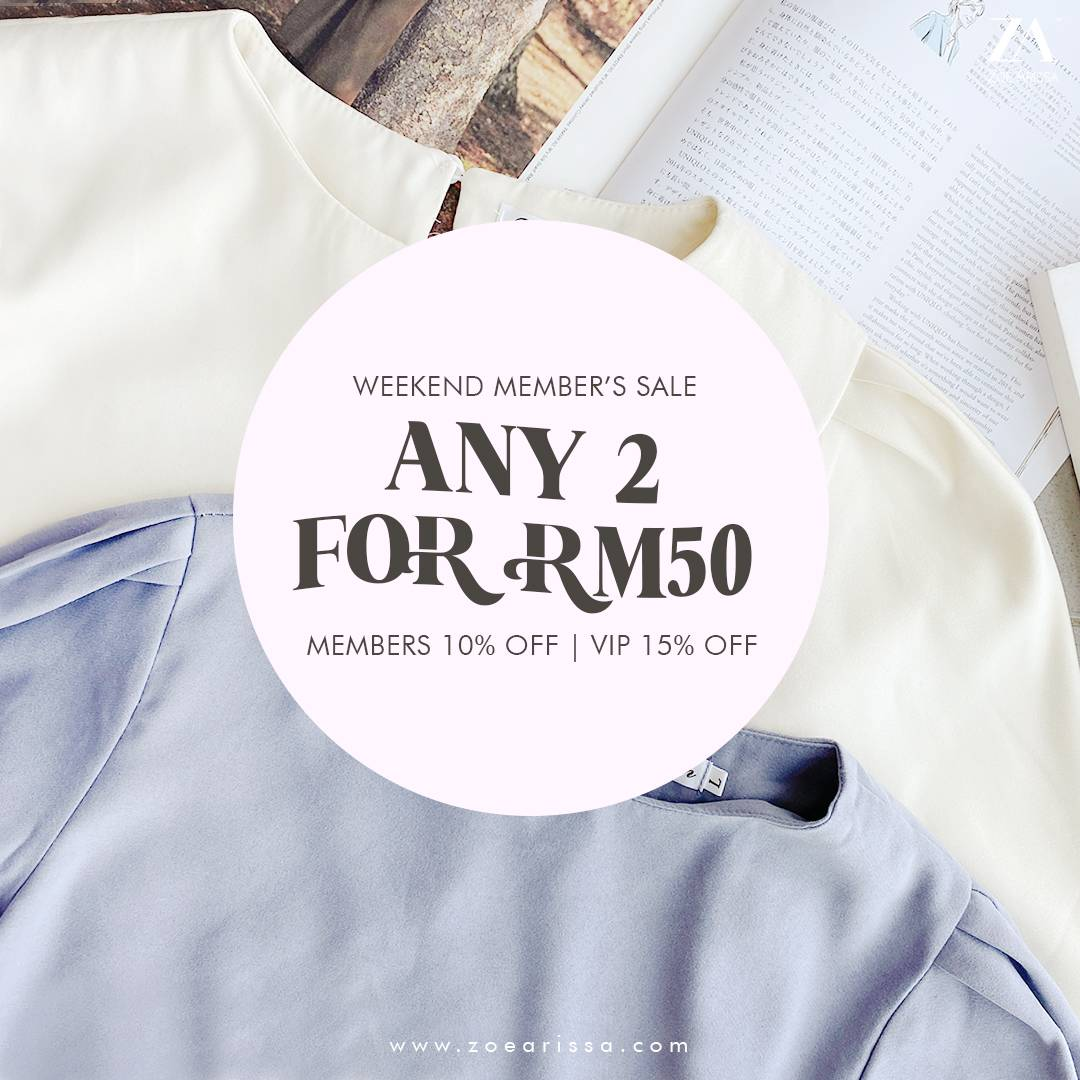 ANY 2 FOR RM50