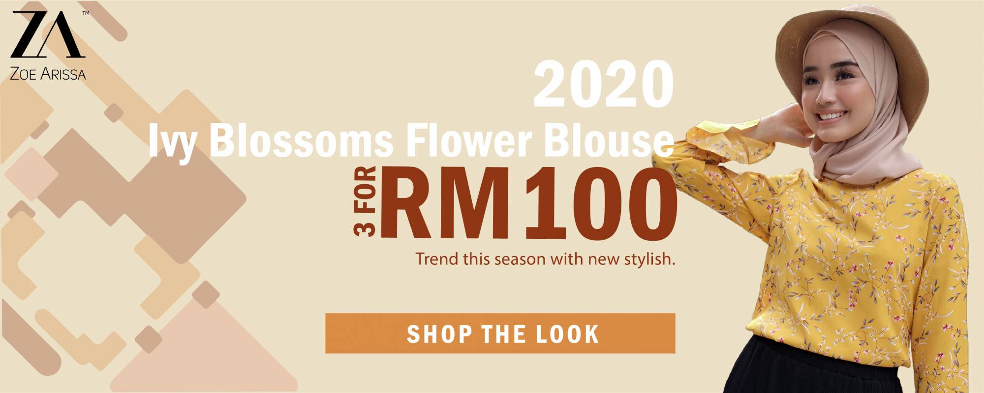 3 Top for RM100