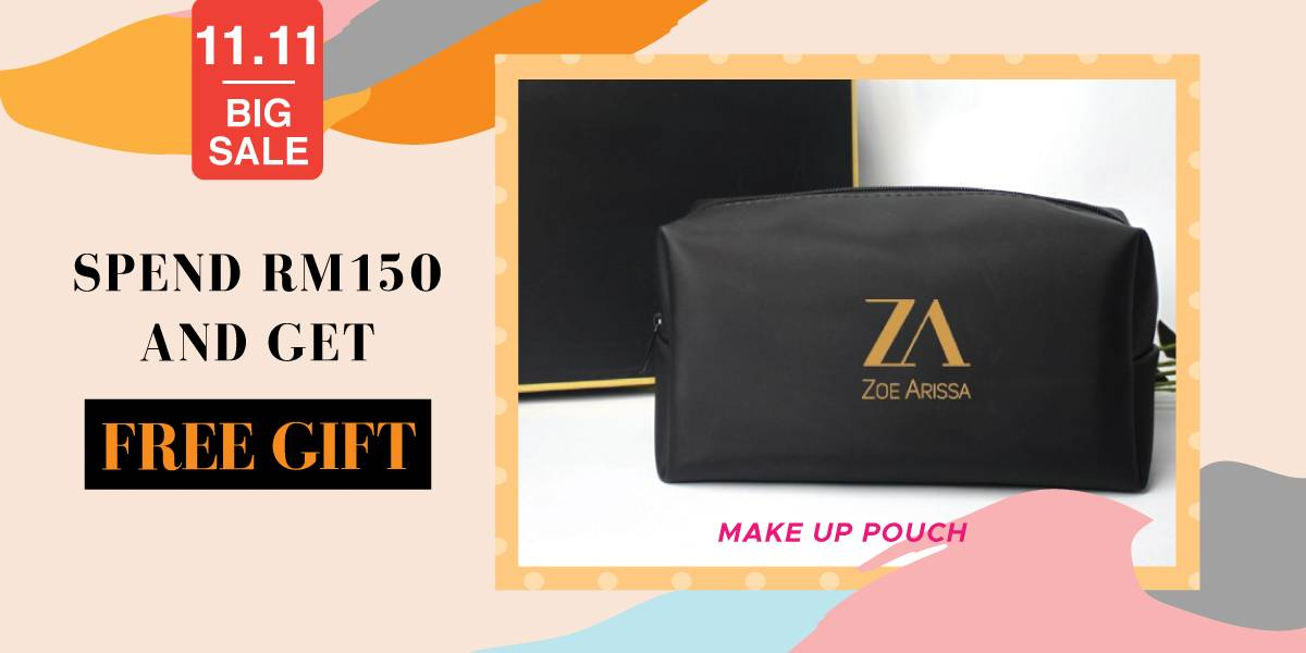 Free Make Up Pouch