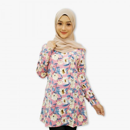 (BF2353) Lily Floral Blouse