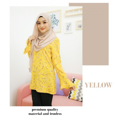 (BF737) Ivy Blossom Blouse