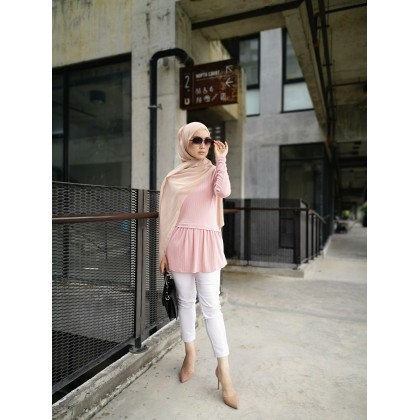 (TF2355) Casual Knitted Top