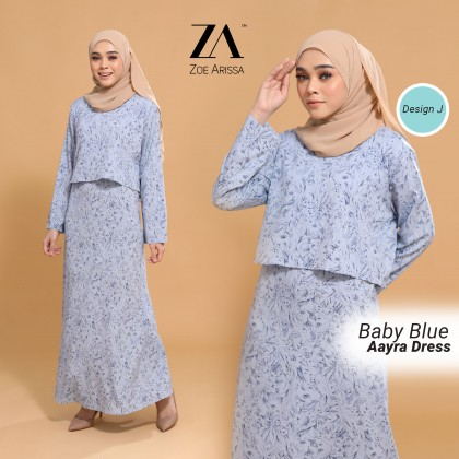 (DS2362) Adult Dress Aayra Onesuit