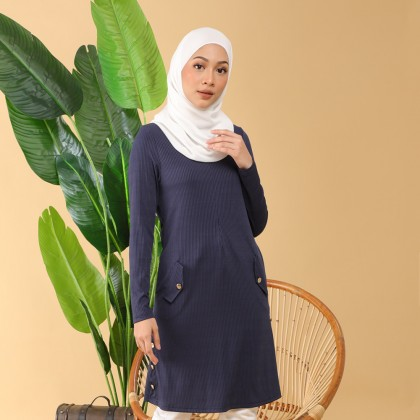 (TF2372) Esmania Knitted Long Blouse
