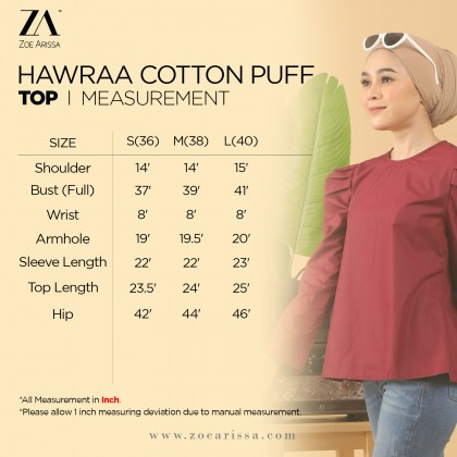(BC2377) Hawraa Cotton Puff