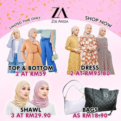 (BF2390) Necklace Blouse Arissa