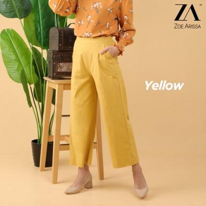 (P2501) Zendaya Linen Wide Pants