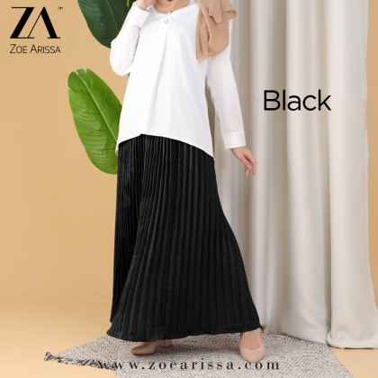 (S9133) Khaseedah Pleated Skirt