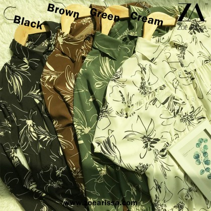 (BF9159) Cassia Floral Blouse