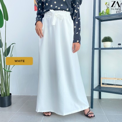 (S9156) Adelia A-Skirt with Belt