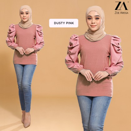 (TF2552) Adreena Knitted Top