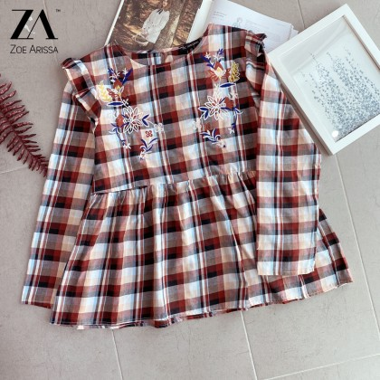 (BF1065) Rayna Floral Top