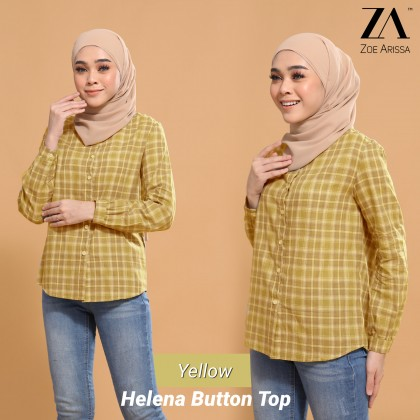 (BF2563) Helena Button Top
