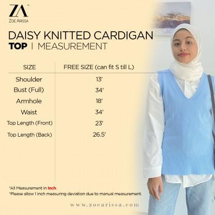 (V1076) Daisy Knitted Vest